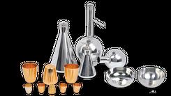 Лабораторная посуда из платины и серебра ЕЗ ОЦМ